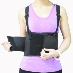 Cheapest Large Working Industrial Back Waist Lumbar Spine Braces Supports Belt Trainer Training Corset Shaper Cincher Intl Online