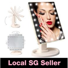 Mirror Table Makeup Stand 22 Led Cosmetic Light Portable Vanity Organisor Lipstick Shopping