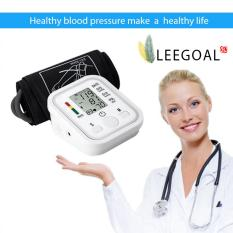 Cheapest Leegoal Automatic Digital Lcd Arm Blood Pressure Monitor Lcd Heart Beat Home Sphgmomanometer White Intl