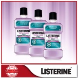 Listerine Mouthwash Total Care Zero Anti Bacterial 1000Ml X 3 Price