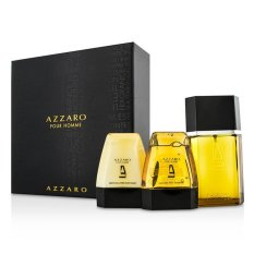 Price Comparisons Of Loris Azzaro Azzaro Coffret Eau De Toilette Spray 100Ml 3 4Oz Hair Body Shampoo 75Ml 2 6Oz After Shave Balm 75Ml 2 6Oz 3Pcs