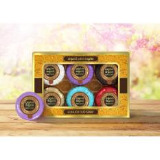 Compare Prices For Luxury Oud Gift Box Mini Soap 6 Fragrance 20G X 6Pc Variety Pack