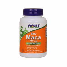 Now Foods Maca, Raw, 750 Mg, 90 Veggie Capsules By Bloom Concept.