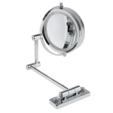 Discount Magideal Led Light Double Sided Wall Mount Mirror 5X Magnifying For Makeup Bath Shave Intl Magideal China