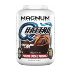 Retail Magnum Quattro World S Most Advanced Pharmaceutical Grade Protein Isolate Chocolate Love 4Lbs