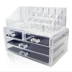 Acrylic Makeup Organizer Storage Box Drawer Cosmetic Jewelry Transparent Type A Price