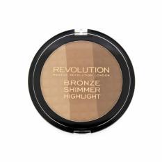 Discount Makeup Revolution Ultra Bronze Shimmer And Highlighter Makeup Revolution Singapore