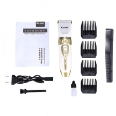 Promo Men Electric Rechargeable Clipper Shaver Hair Trimmer Haircut Machine Intl