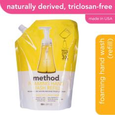 Latest Method Foaming Hand Wash Refill Lemon Mint 828Ml