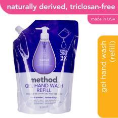 Method Gel Hand Wash Refill French Lavender 1L Shopping