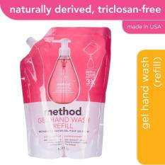 Compare Price Method Gel Hand Wash Refill Pink Grapefruit 1L Method On Singapore