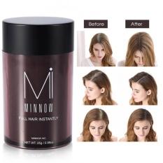 Minnow Women Baldness Concealer Thickening Hair Building Fibers Powder Dark Brown - Intl By Beautytop.