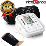 Cheapest Moob Arm Blood Pressure Monitor Lcd Heart Beat Home Sphgmomanometer White Online