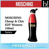 Price Moschino Cheap Chic Edt Women 100Ml Tester Moschino Singapore