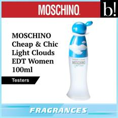 Cheapest Moschino Cheap Chic Light Clouds Edt Women 100Ml Tester Online