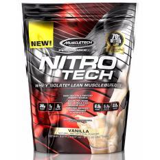 Lowest Price Muscletech Nitro Tech 1 Lb Vanilla