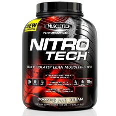Cheapest Muscletech Performance Series Nitrotech 3 97Lbs Cookies Cream