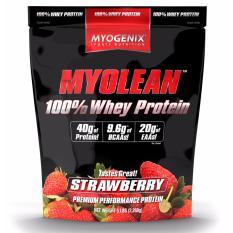 Myogenix Myolean 100 Whey 5 Lbs Strawberry Singapore