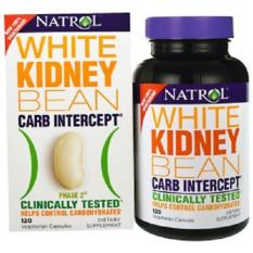 Natrol, Carb Intercept, Phase 2 White Kidney Bean, 120 Veggie Caps By Tokohealth Sg.