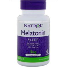 Buy Natrol Melatonin Time Release 5Mg 100 Tablets On Singapore