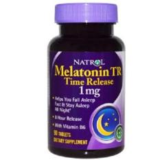 Top Rated Natrol Melatonin Tr Time Release 1 Mg 90 Tablets