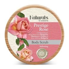 Natural by Watson Prestige Rose Body Scrub 200G