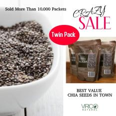 Natural Grown Black Chia Seeds By Virico Natural Twin Packs 1 Kg 1 1 Price