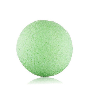 Natural Konjac Konnyaku Facial Puff Face Wash Cleansing Sponge Green