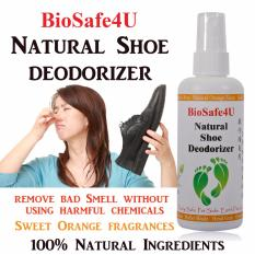 Natural Shoe Deodorizer Orange Scent By Yk Natural.