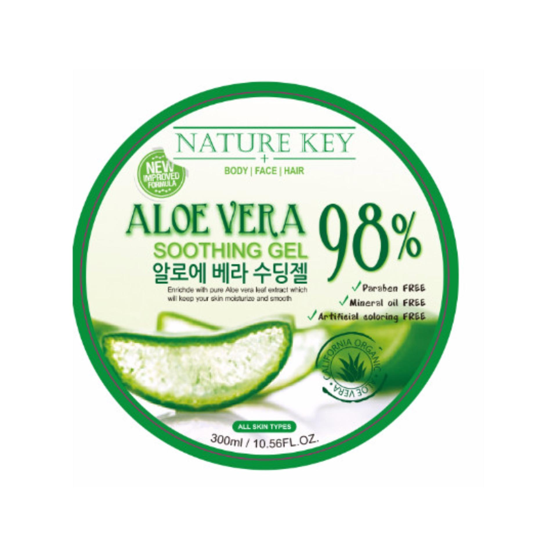 Buy Sell Cheapest Nature Key Soothing Best Quality Product Deals Secret Aloe Fresh Toner 248ml Vera Gel 300ml
