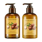 New Nature Republic Argan Essential Deep Care Shampoo Conditioner 300Ml 2