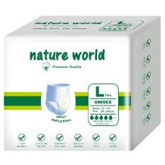 Buy Nature World Day And Night *d*lt Pull Up Pants L Size 1Ctn 8Bagsx10Pcs Cheap On Singapore