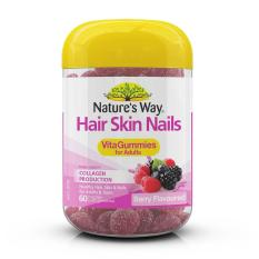 Nature S Way Hair Skin Nails Vita Gummies For Adults 60 Gummies Free Shipping