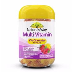 Pastilles multivitamines 120 pour adultes, Natures Way Vita Gummies, février 2020, par Australia Health Warehouse.