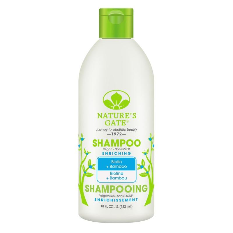 Buy Natures Gate Biotin + Bamboo Enriching Shampoo 532ml Singapore
