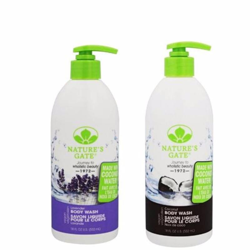 Buy Natures Gate Lavender Body Wash and Coconut Body Wash 532ml Singapore