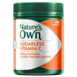 Review Nature S Own Sugarless Vitamin C 500Mg 400 Tablets On Singapore