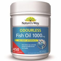 Review Nature S Way Fish Oil Odourless 1000Mg 450 Capsules Nature S Way On Singapore