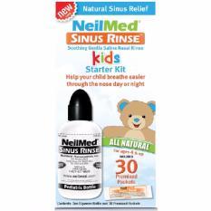 Buy Kids Sinus Rinse Starter Kit With 30 Premixed Packets Online