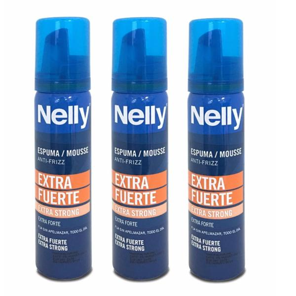 Buy Nelly Mousse Extra Strong 75ml x 3 bottles Singapore