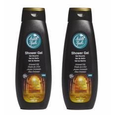 Nelly Fresh Feel Shower Gel Oriental Oil 750Ml X2 Qty Price Comparison