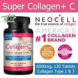 Buying Neocell Super Collagen C Type 1 3 120 Tablets