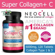 Buy Neocell Super Collagen C Type 1 3 120 Tablets Cheap Singapore