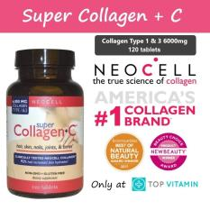 Neocell Super Collagen+C Type 1 & 3 6000mg - 120 Tablets