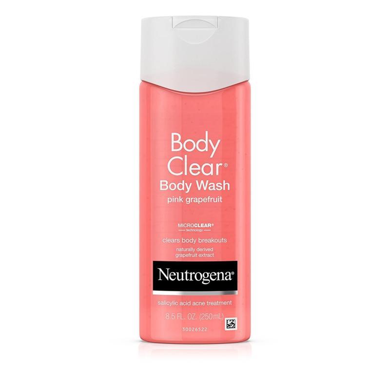 Buy Neutrogena Body Clear Body Wash, Salicylic Acid Acne Treatment, Pink Grapefruit, 8.5 Fl. Oz./250 ml Singapore
