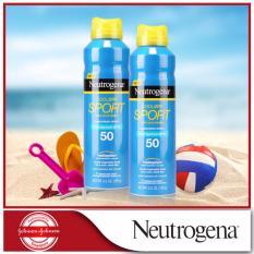 Where Can You Buy Neutrogena Cooldry Sport Sunscreen Spray Spf50 155G X 2Pcs