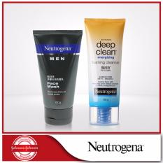Sales Price Neutrogena Men Face Wash Deep Clean Energizing Foam Cleanser