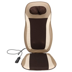 Sales Price New Arrival Sunwonder Electric Car Massage Cushion Seat Chair Back Neck Shoulder Body Massager Pain Relief Heat Kneading Massager Intl