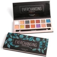New Focallure Matte Shimmer Eye Shadow maquiagem Waterproof Pigments Smoky Color Minerals Brand Eyeshadow Palette Makeup