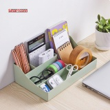New Plastic Makeup Organizer Storage Box Multipurpose Candy Color Office Sundries Cosmetic Container(Green Intl On Line